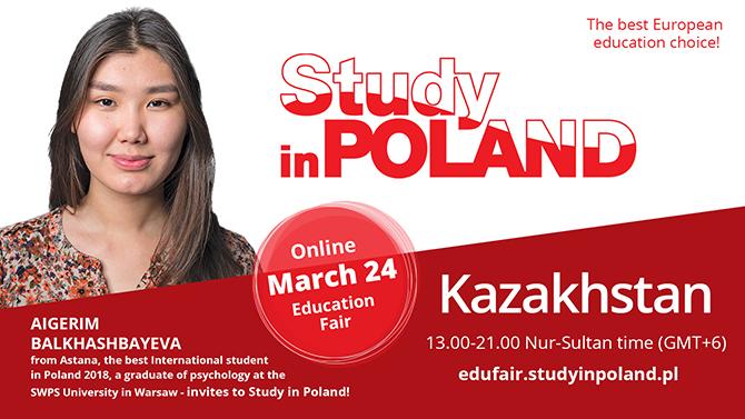 Ambasadorka polskich uczelni w Kazachstanie