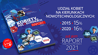 raport Kobiety na politechnikach 2021